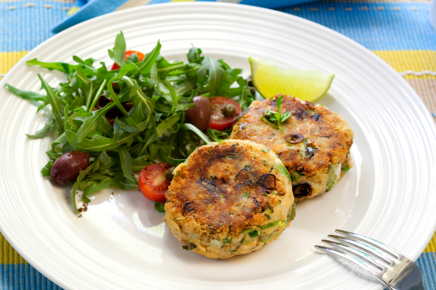 Homemade Fishcakes…..